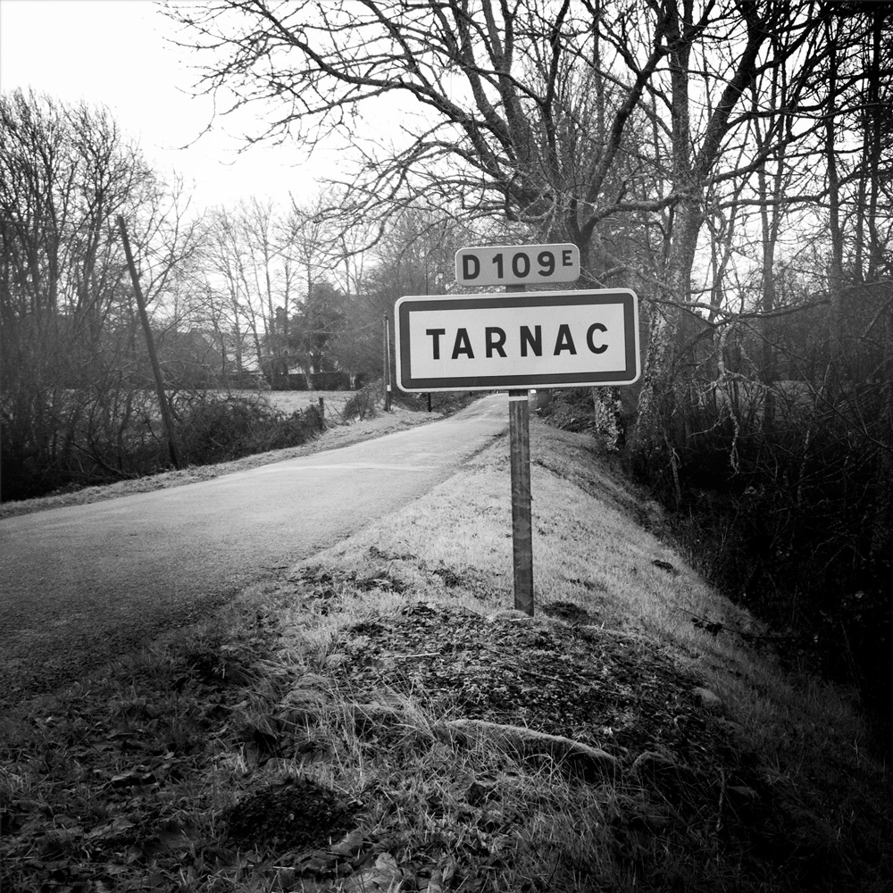 The road to Tarnac